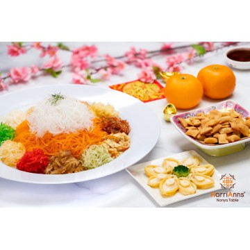 HarriAnns Prosperity Abalone Yusheng (serves 8)