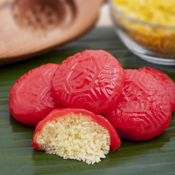 Ang Ku Kueh (Mung Bean)